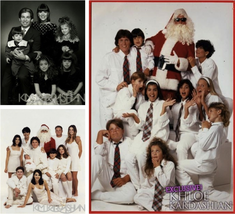 The Best Kardashian Family Christmas Cards